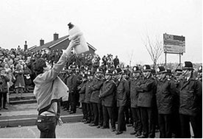 Newly released files from 1984 include miners' strike