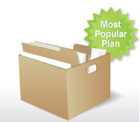 Pricing plan box