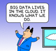 big data lives in the cloud