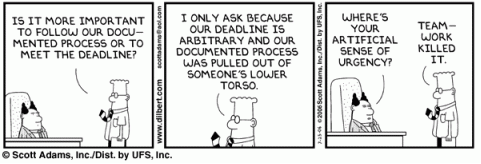 deadline cartoon