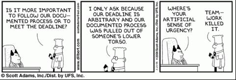 deadline cartoon