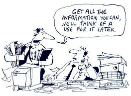 information cartoon