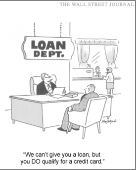loan dept cartoon