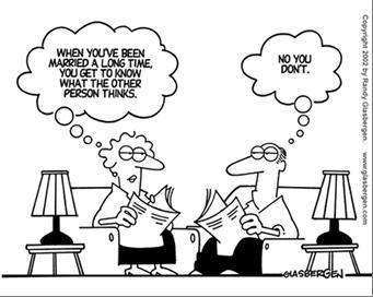 marriage cartoon