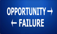 Opportunity - Failure