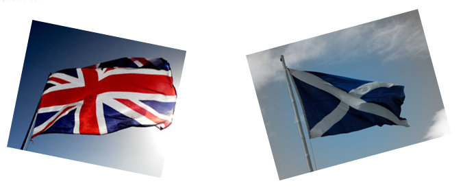 independence flags