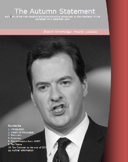 Autumn Statement front cover
