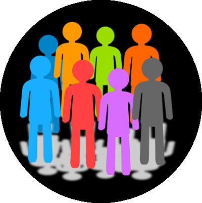 colour figures background