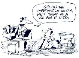 information cartoon